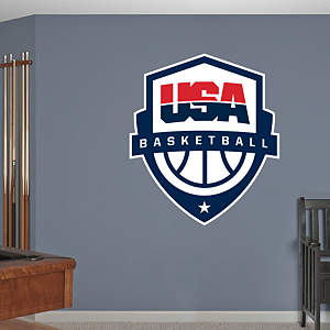 USA Basketball Logo Fathead Wall Decal
